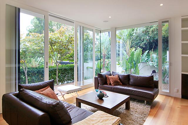 Urban Hill House contemporary-family-room