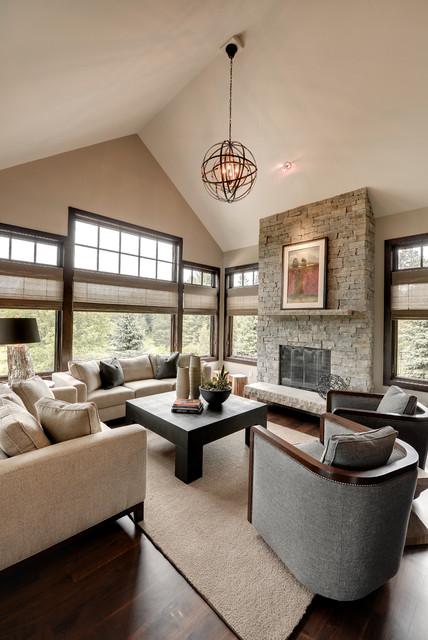 Urban Lodge - Klassisch modern - Wohnzimmer - Minneapolis - von ...