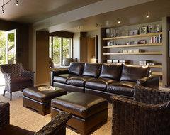 V & Company, Fine Builders modern-family-room