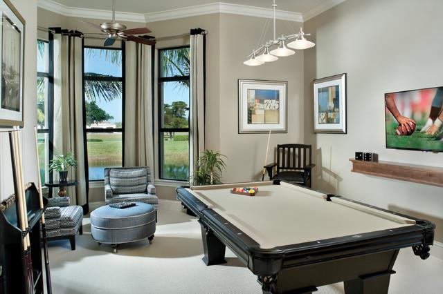Valencia 1180 Mediterranean Family Room Tampa By