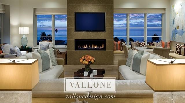 Vallone Design Work contemporary family room