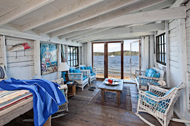 Beach Cottage Decorating Ideas Pictures: Vashon Island Waterfront Home