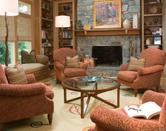 Vendome Home Renovation traditional family room