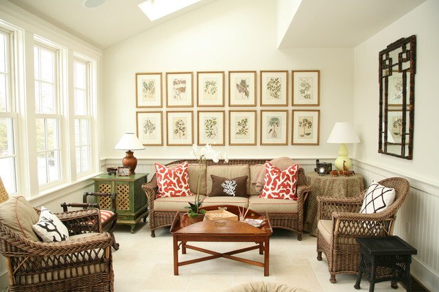 Inspiration for a mid-sized victorian open concept carpeted family room remodel in Boston with white walls and no tv
