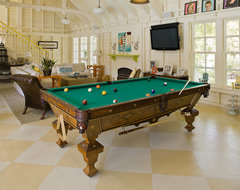 Victorian Pool House traditional family room