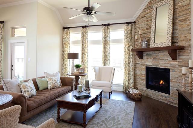 Villas Of Colleyville Traditional Family Room Dallas