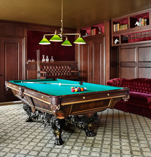 15 Homes With Amazing Pool Tables That Are Anything But An Eyesore Photos Huffpost