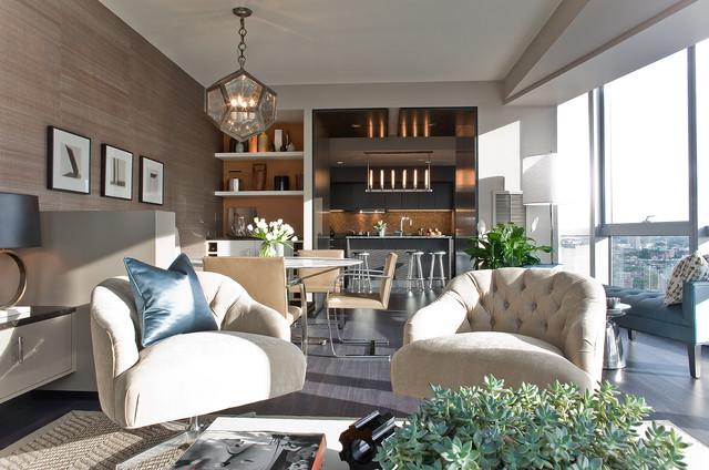 Interior Designers \u0026 Decorators. W Hotel Residence contemporary-family-room & W Hotel Residence