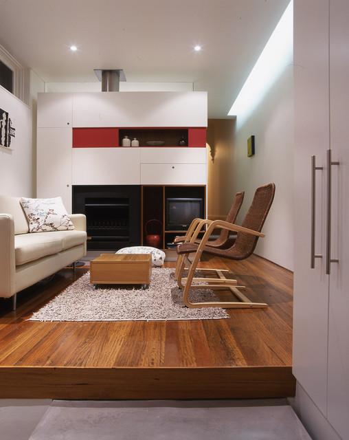 Wake Murphie House contemporary-family-room
