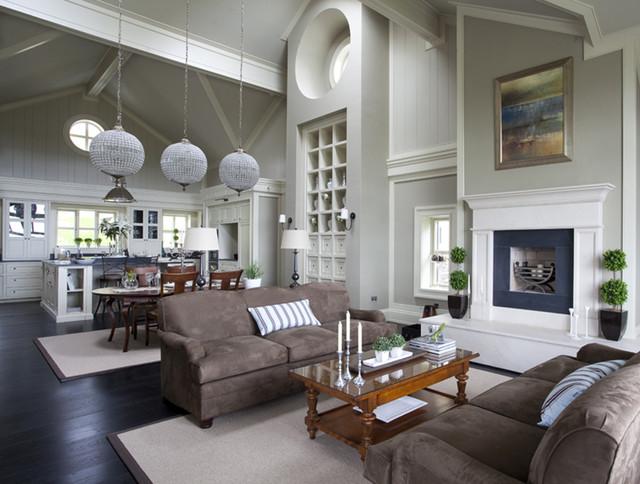 Wall Morris Design New England Style House Kerry Ireland Klassisch Wohnzimmer Dublin