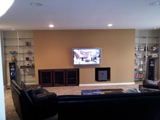 Wall System contemporary-family-room