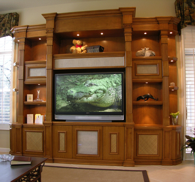 wall units traditional miami by true to form design