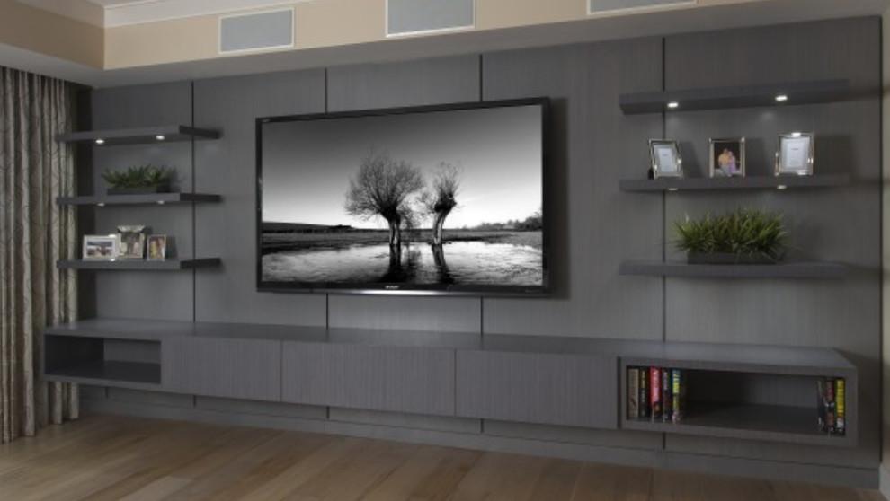Wall Units Modern Family Room