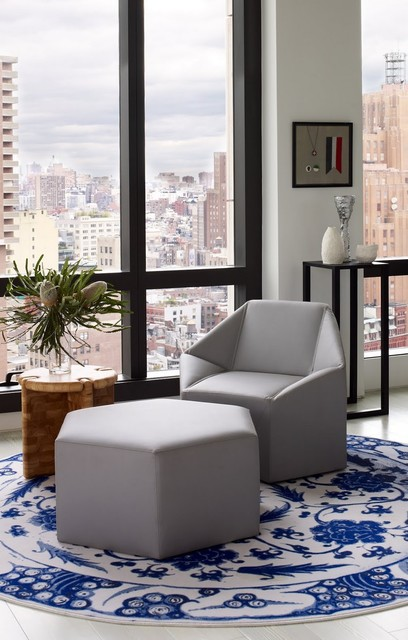 Warren Apartment Modern Family Room New York By