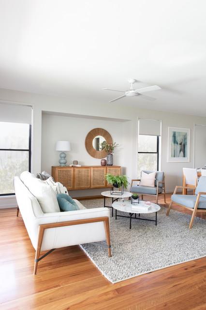 Wavell Heights Decorating - Scandinavian - Family Room ...