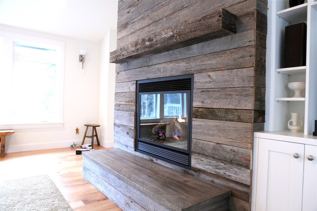 Weathered Oak Family Room