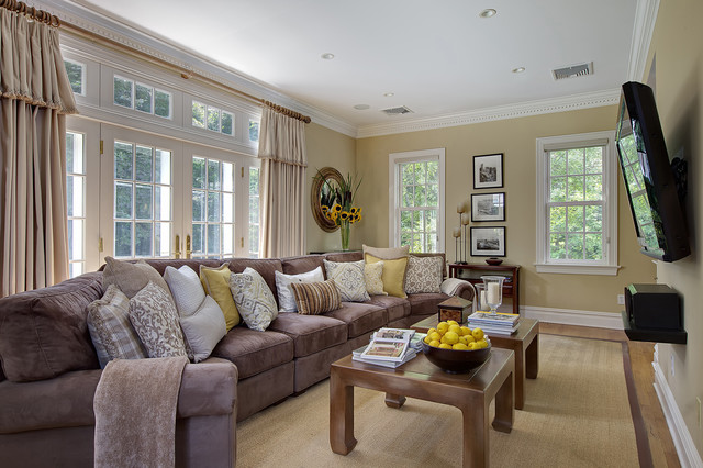 Welcome To Relaxation Traditional Family Room New