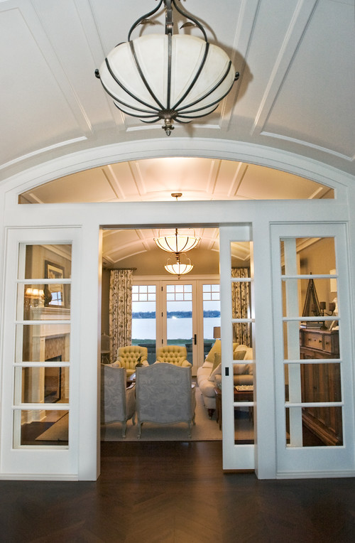 Interior openings for Dining room ideas with french doors