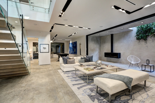 Exceptionnel West Hollywood Modern Contemporary Family Room