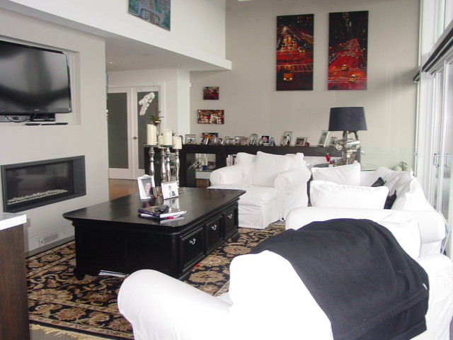 West Vancouver Renovation contemporary-family-room
