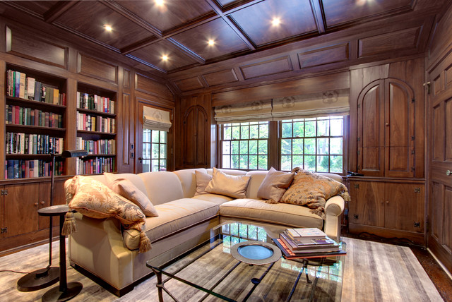 Westchester Country Home traditional-family-room