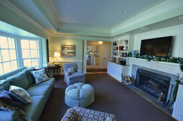 Westham Renovation, Private Residence traditional-family-room