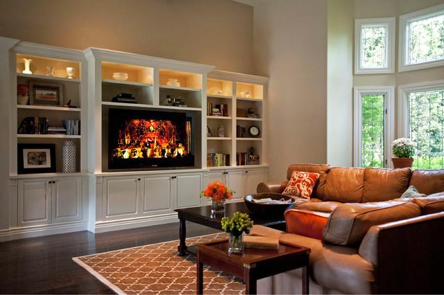 Westlake Village traditional-family-room