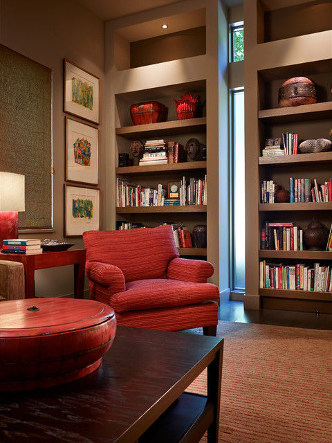 Westlight House contemporary-home-theater