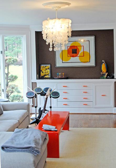 Weston Retreat eclectic-family-room