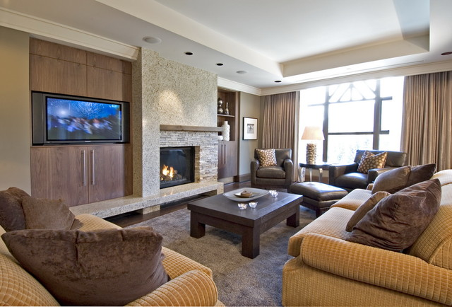 While at CHil Design Group contemporary-family-room