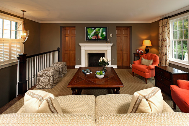 Whole House Renovation Project in Potomac, MD traditional-family-room