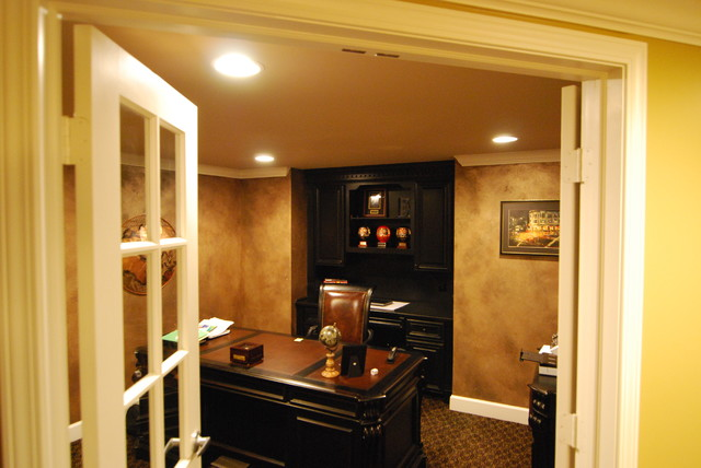 Williams Basement traditional family room