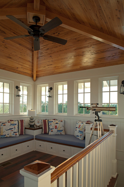 Williams Residence beach-style-family-room