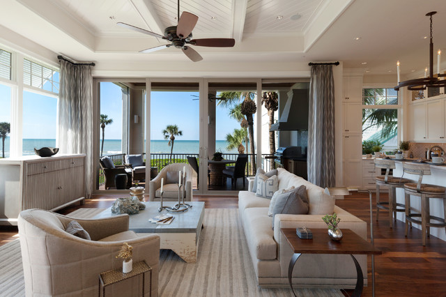 Windover 108 Model at Barefoot Beach contemporary-family-room