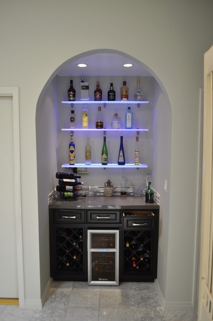 Wine Bar eclectic-family-room
