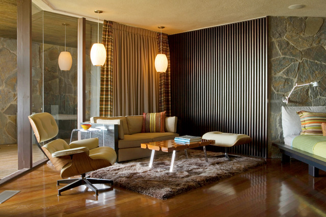 wolff house by architect john lautner midcentury family room los angeles by kristin. Black Bedroom Furniture Sets. Home Design Ideas