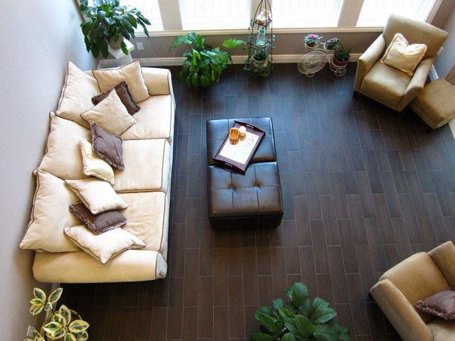 Wollam Lake Home contemporary-family-room