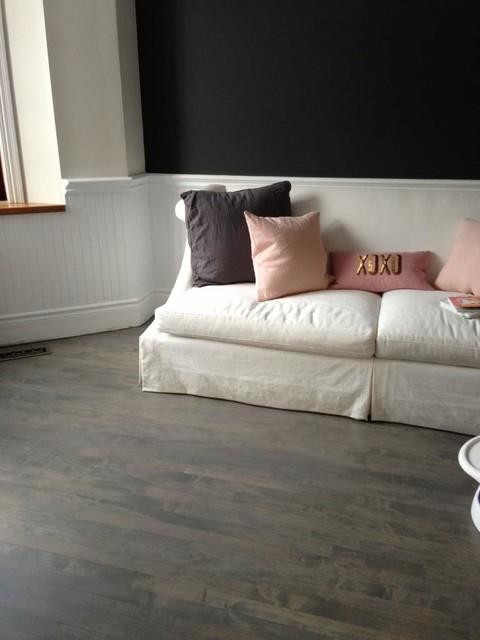 Wood Floor Stair Refinishing