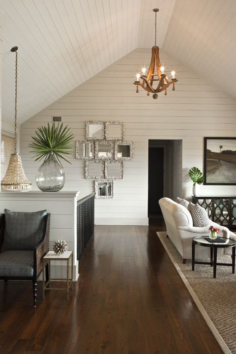 Eclectic Tropical Style Family Room