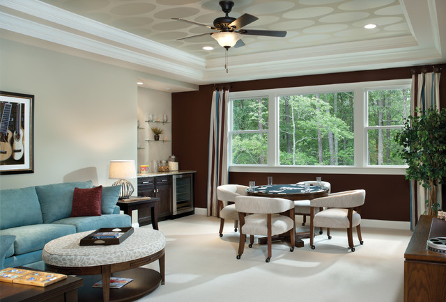 Woodcliff 1173 Traditional Family Room Tampa By
