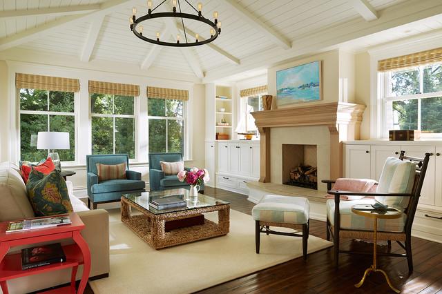 woodland cottage maritim wohnzimmer minneapolis von rehkamp larson architects inc. Black Bedroom Furniture Sets. Home Design Ideas