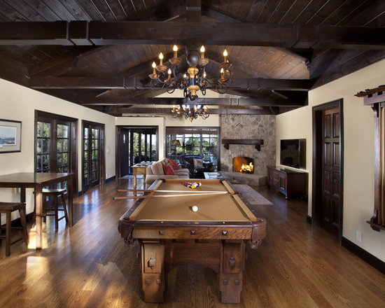 Google Image Result For Httpsthouzzsimgs Beauteous Pool Table Living Room Design Review