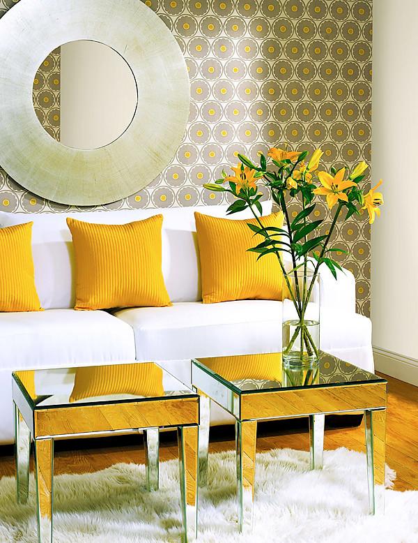 Family room - contemporary family room idea in Boston