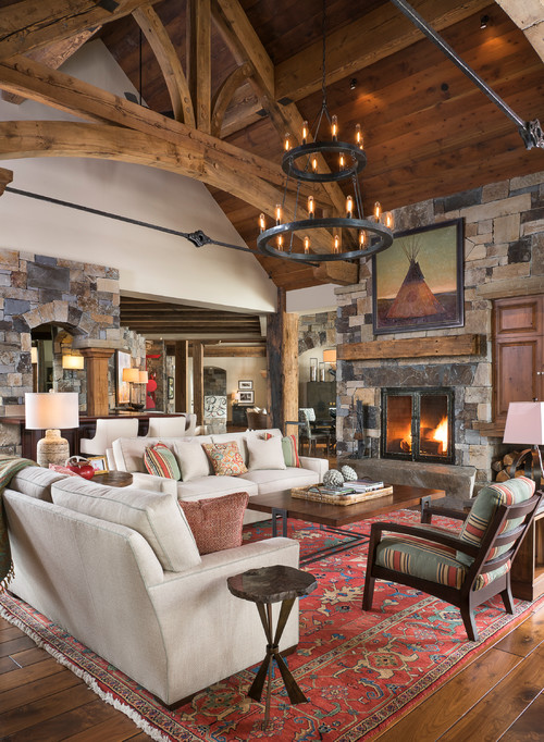 Get Cozy With Cabin Style Decorating Town Amp Country Living