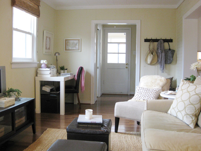 Young house love- Den rustic-family-room