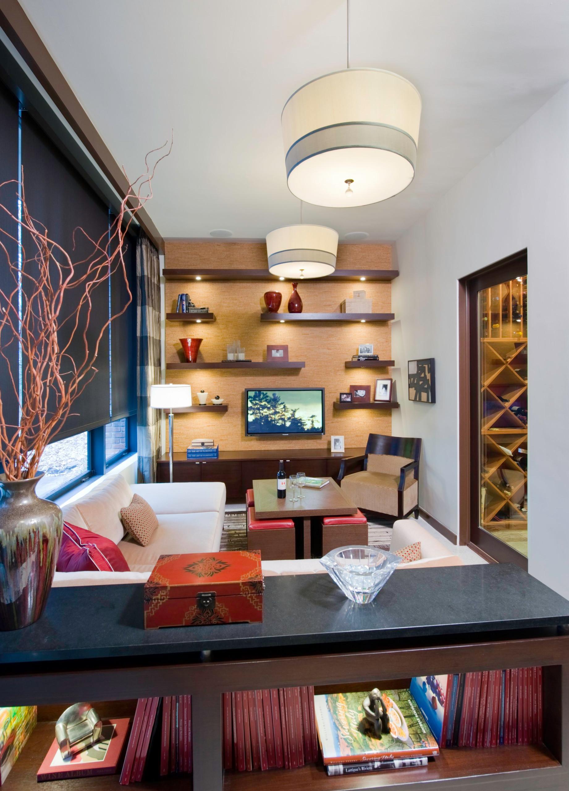 Zen Style Media Room