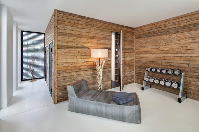 haus r moderne salle de sport other metro par be planen architektur gmbh. Black Bedroom Furniture Sets. Home Design Ideas