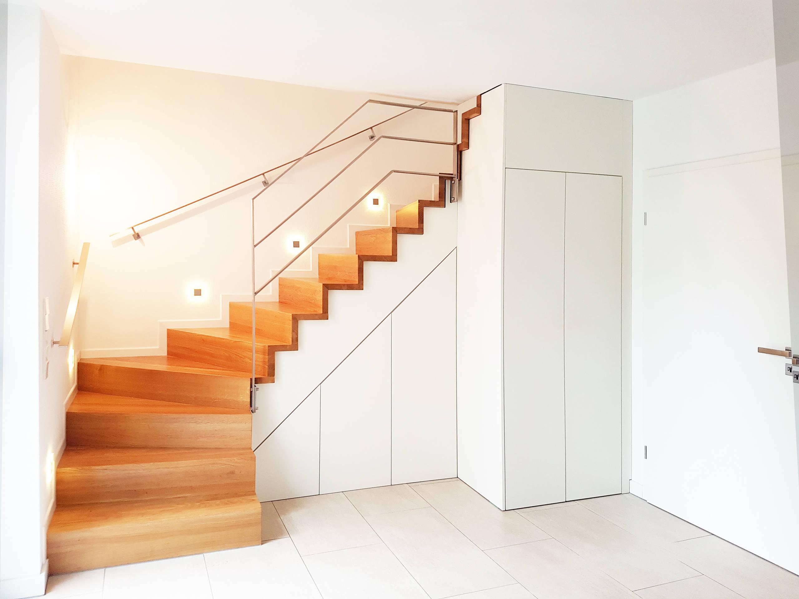 75 Beautiful Terrazzo Floor Hallway With White Walls Pictures