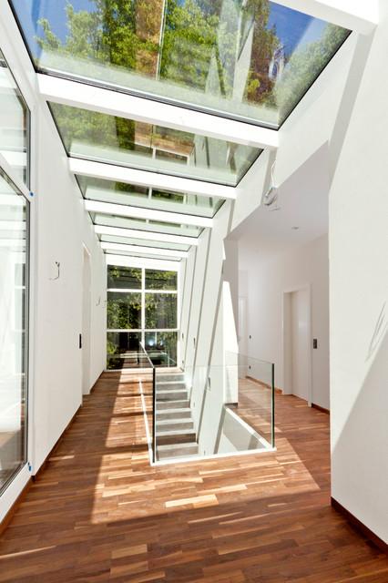 haus stubner modern flur n rnberg von lbl architektur. Black Bedroom Furniture Sets. Home Design Ideas