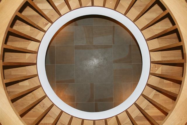 holzgel nder modern flur dortmund von architekten br ning rein. Black Bedroom Furniture Sets. Home Design Ideas